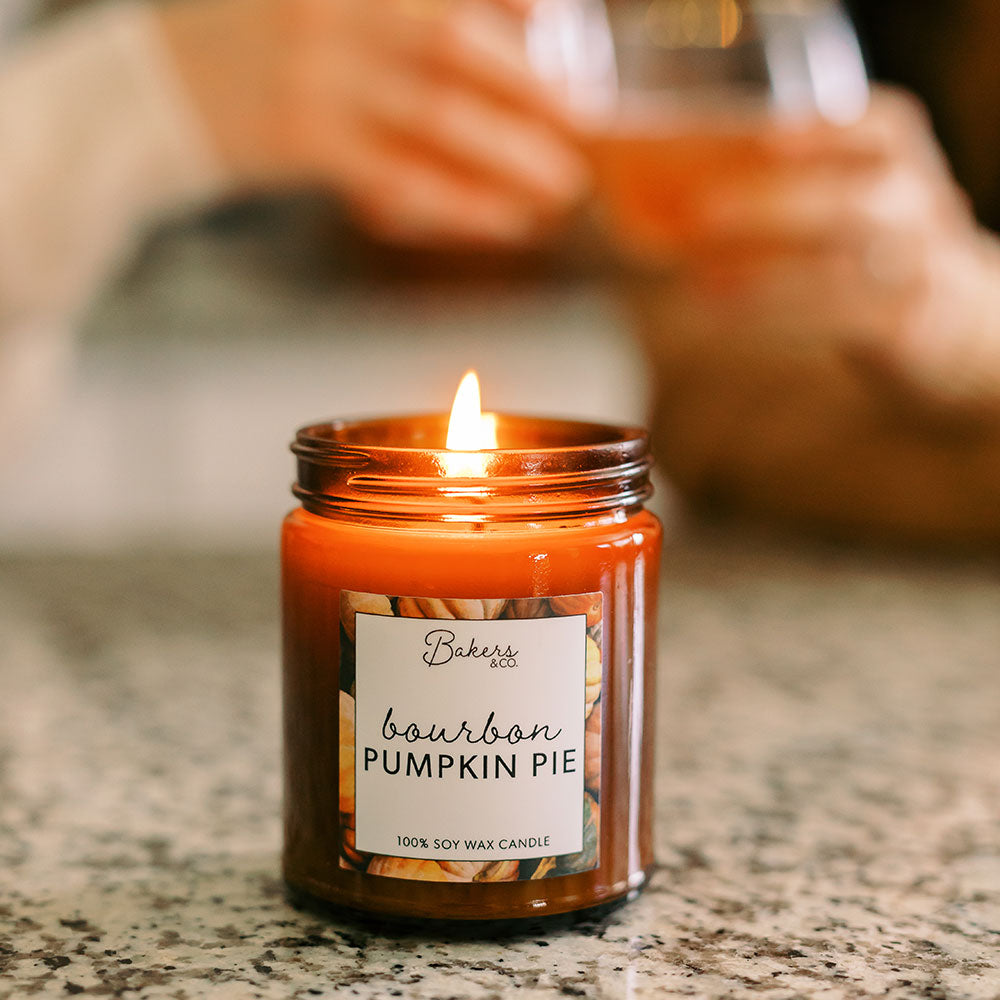 Bourbon Pumpkin Pie Candle