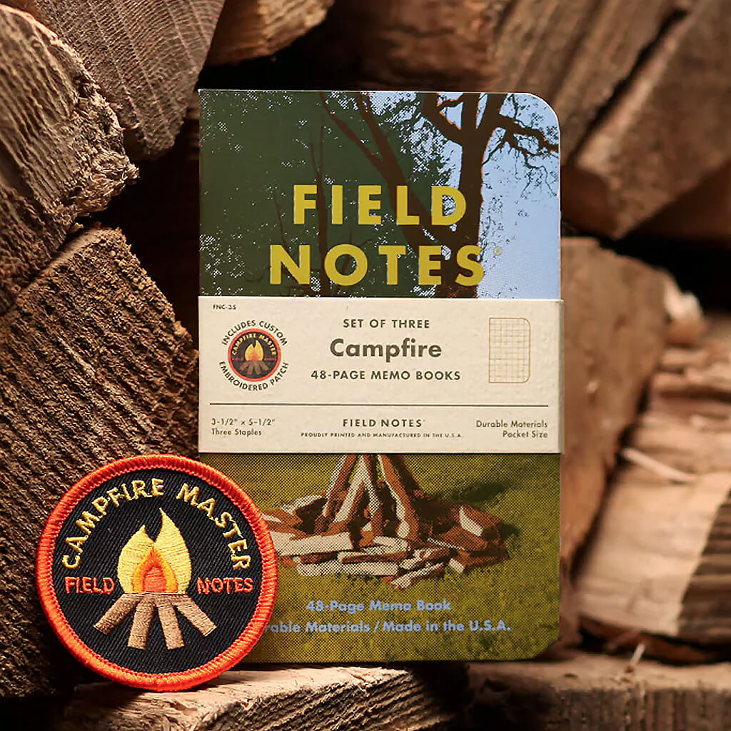 Campfire 3-Pack - Field Notes - Hello Merch
