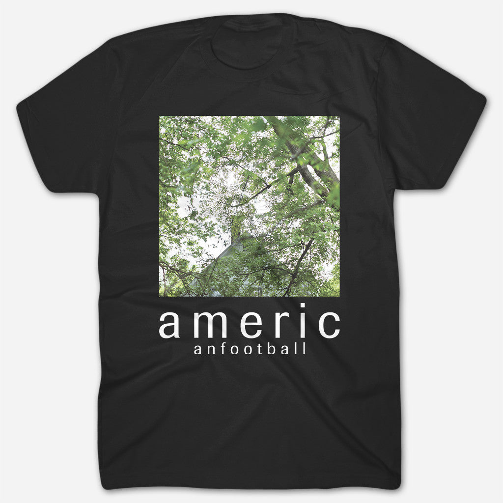 Tree Canopy Black T-Shirt