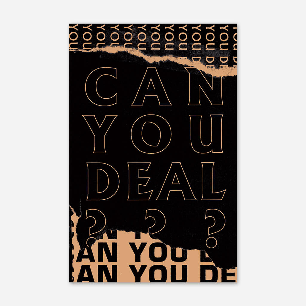 Can You Deal? Zine