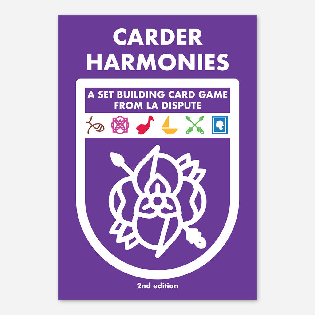 Carder Harmonies (2nd Edition) - La Dispute - Hello Merch