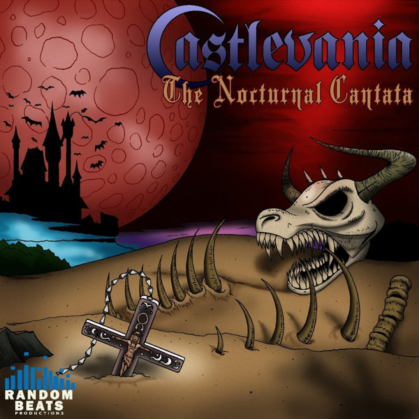 Castlevania: The Nocturnal Cantata CD by Mega Ran for sale on hellomerch.com