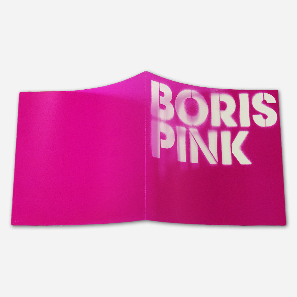 Pink Deluxe Double CD - Boris - Hello Merch