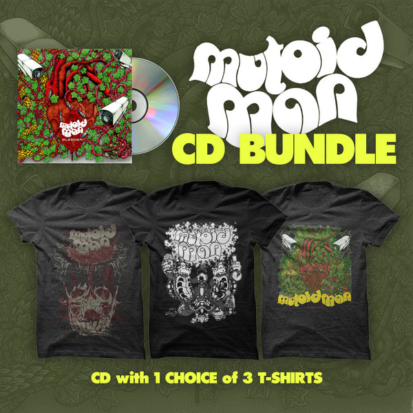 Bleeder CD Bundle by Mutoid Man for sale on hellomerch.com