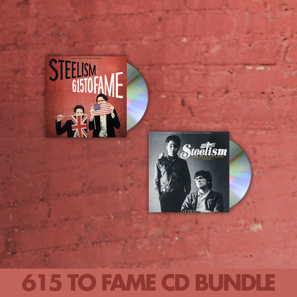 615 To Fame CD Bundle by Steelism for sale on hellomerch.com