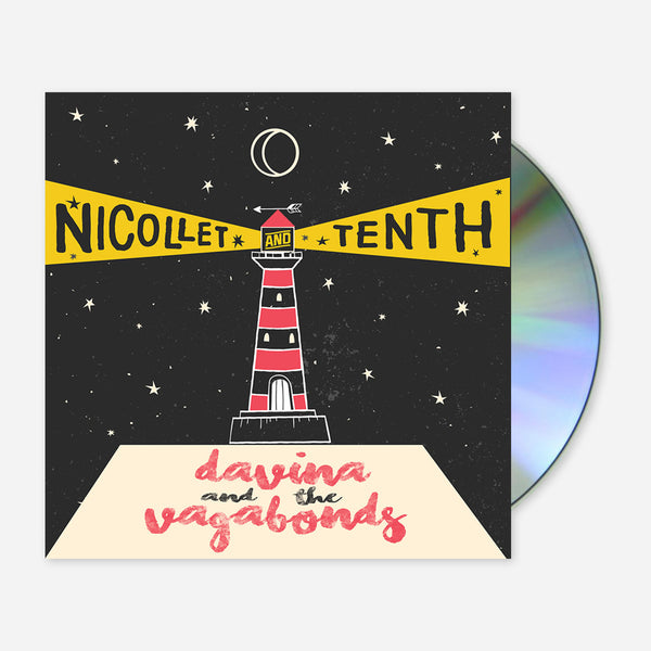 Nicollet and Tenth CD by Davina and The Vagabonds for sale on hellomerch.com