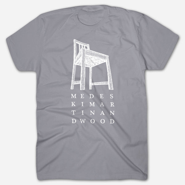Chair Grey T-Shirt by Medeski Martin & Wood for sale on hellomerch.com