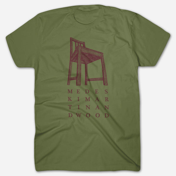 Chair Olive T-Shirt by Medeski Martin & Wood for sale on hellomerch.com