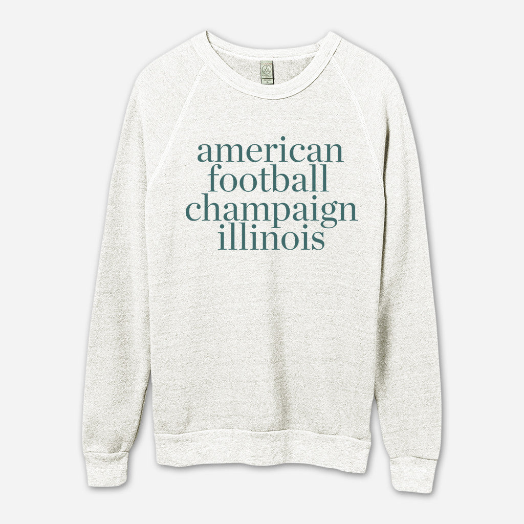 AF Champaign, IL Eco-Oatmeal Champ Pullover
