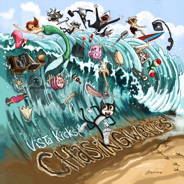 Chasing Waves EP CD by Vista Kicks for sale on hellomerch.com