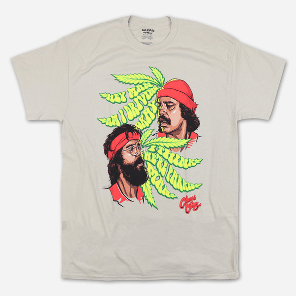 9b94e7369 Am I Driving Okay Tan T-Shirt by Cheech and Chong for sale on hellomerch