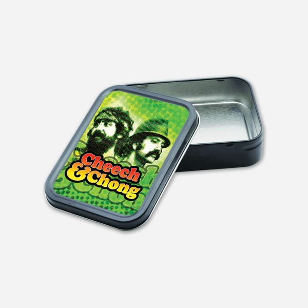 Reflection Stash Tin by Cheech and Chong for sale on hellomerch.com