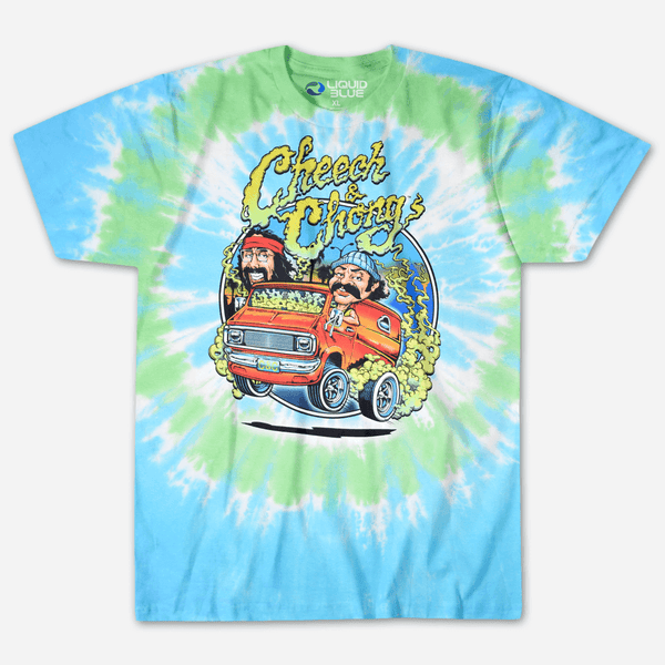882dfb8ad Liquid Blue Smokin' Ride Tie Dye T-Shirt by Cheech and Chong for sale