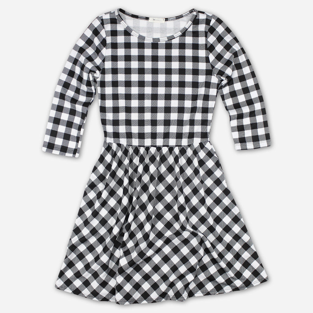 Gingham Dreams Dress - Oui Fresh - Hello Merch