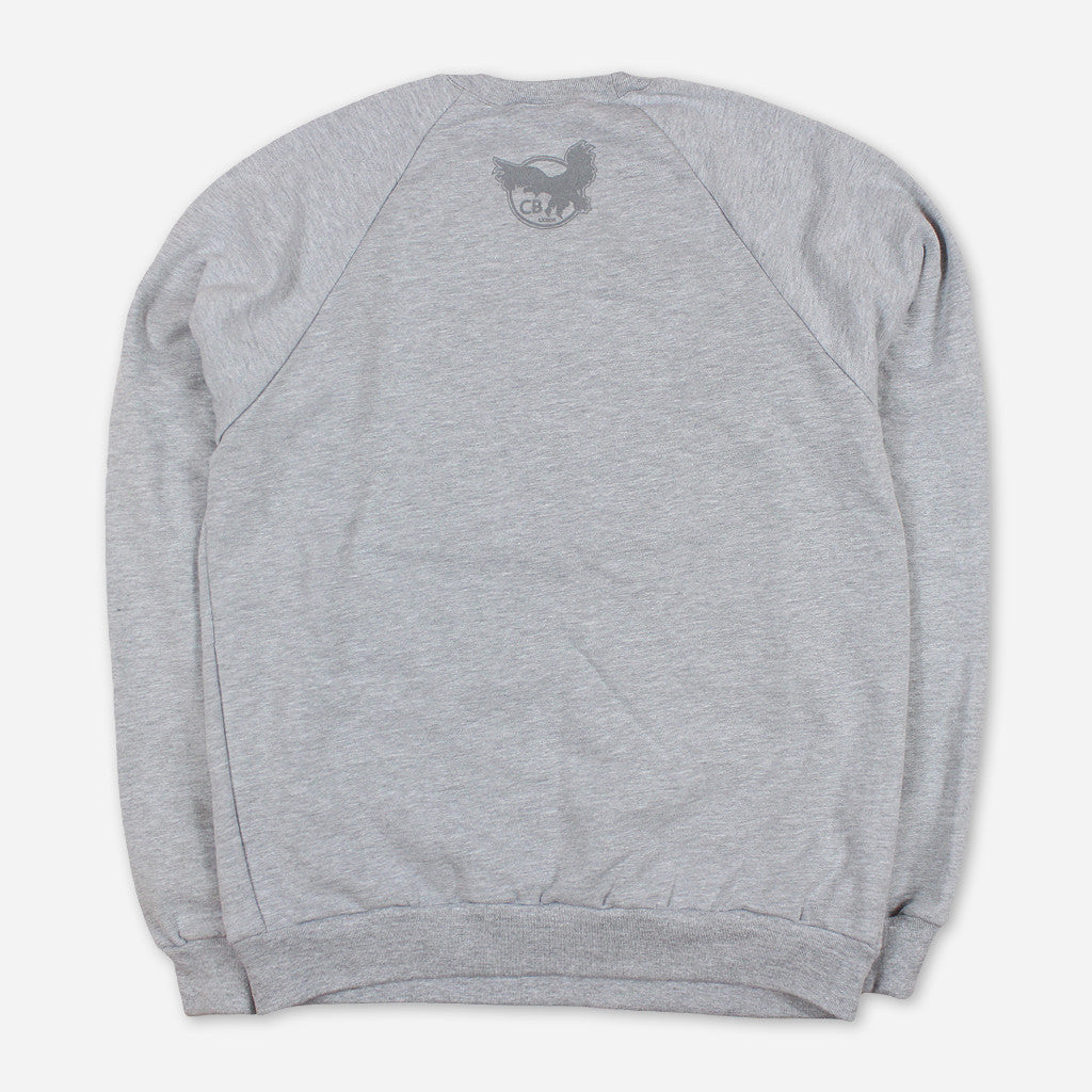 Cali Roots Heather Grey Pullover Sweatshirt - Chris Benchetler - Hello Merch