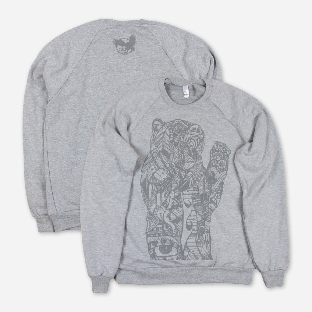 Cali Roots Heather Grey Pullover Sweatshirt Chris Benchetler - Athlete Merch
