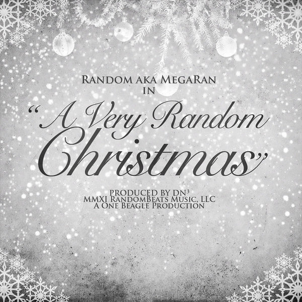 A Very Random Christmas CD by Mega Ran for sale on hellomerch.com