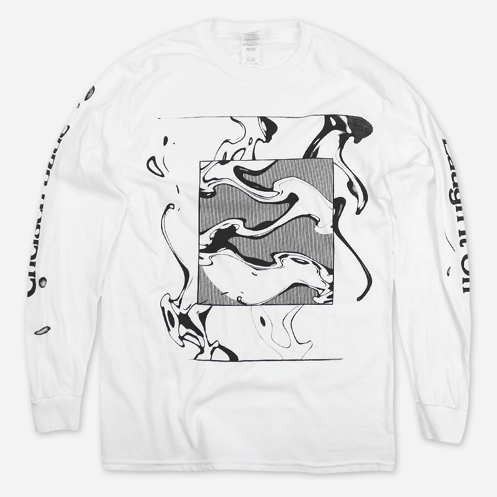 Laugh It Off White Long Sleeve T-Shirt