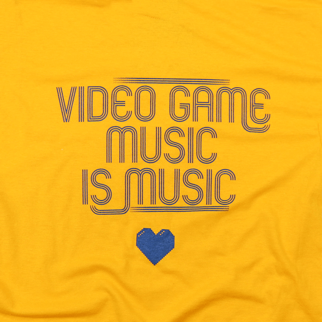 Video Game Music Gold T-Shirt