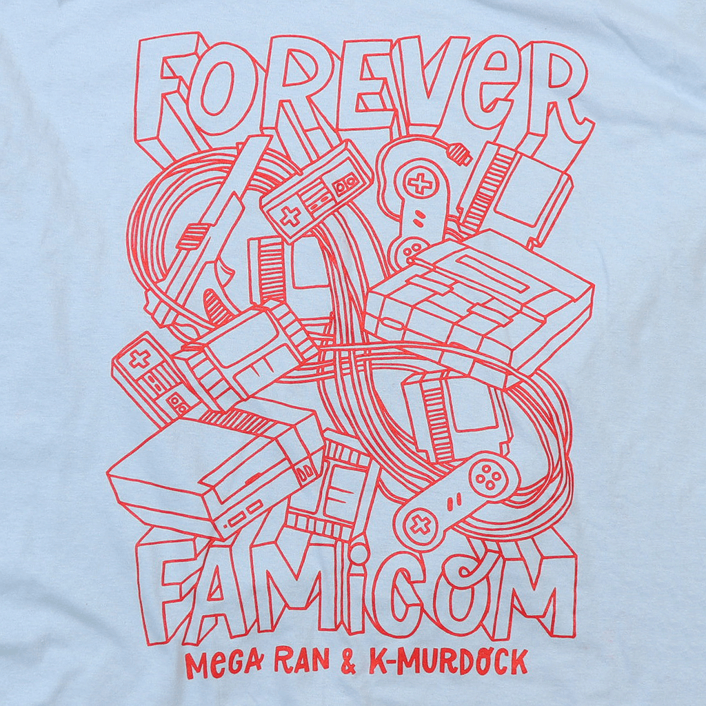 Forever Famicom Light Blue T-Shirt