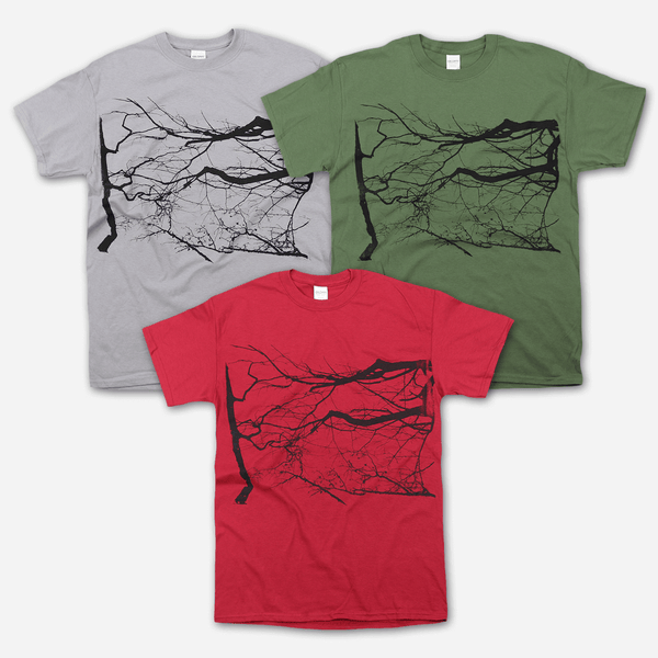 Branches T-Shirt by Billy Martin for sale on hellomerch.com
