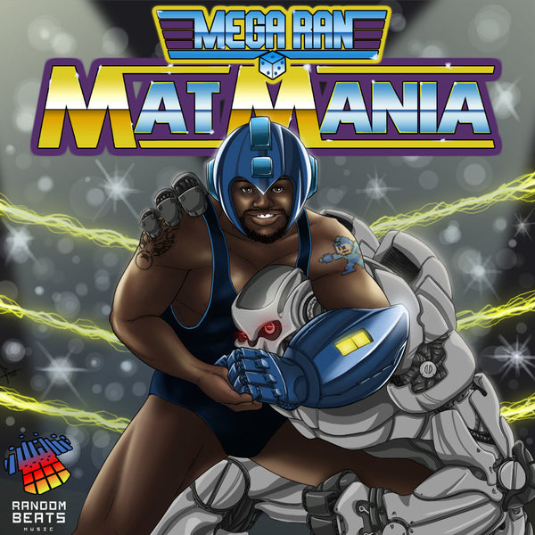 Mat Mania: The Album CD by Mega Ran for sale on hellomerch.com