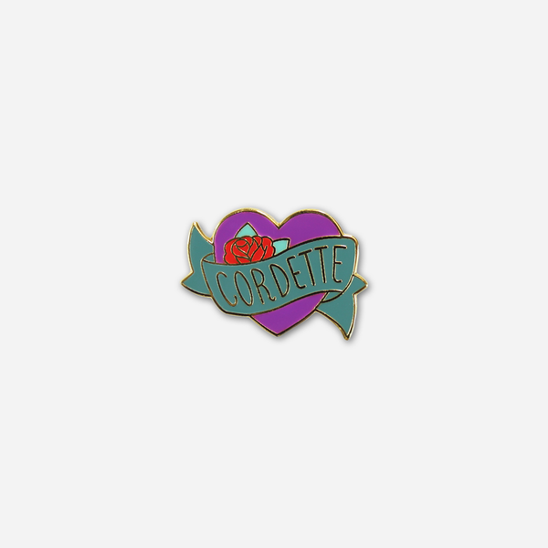 Cordette Enamel Pin by Buffering the Vampire Slayer for sale on hellomerch.com