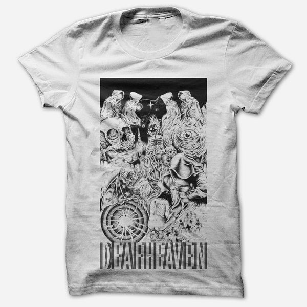 Cosmic White T-Shirt by Deafheaven for sale on hellomerch.com