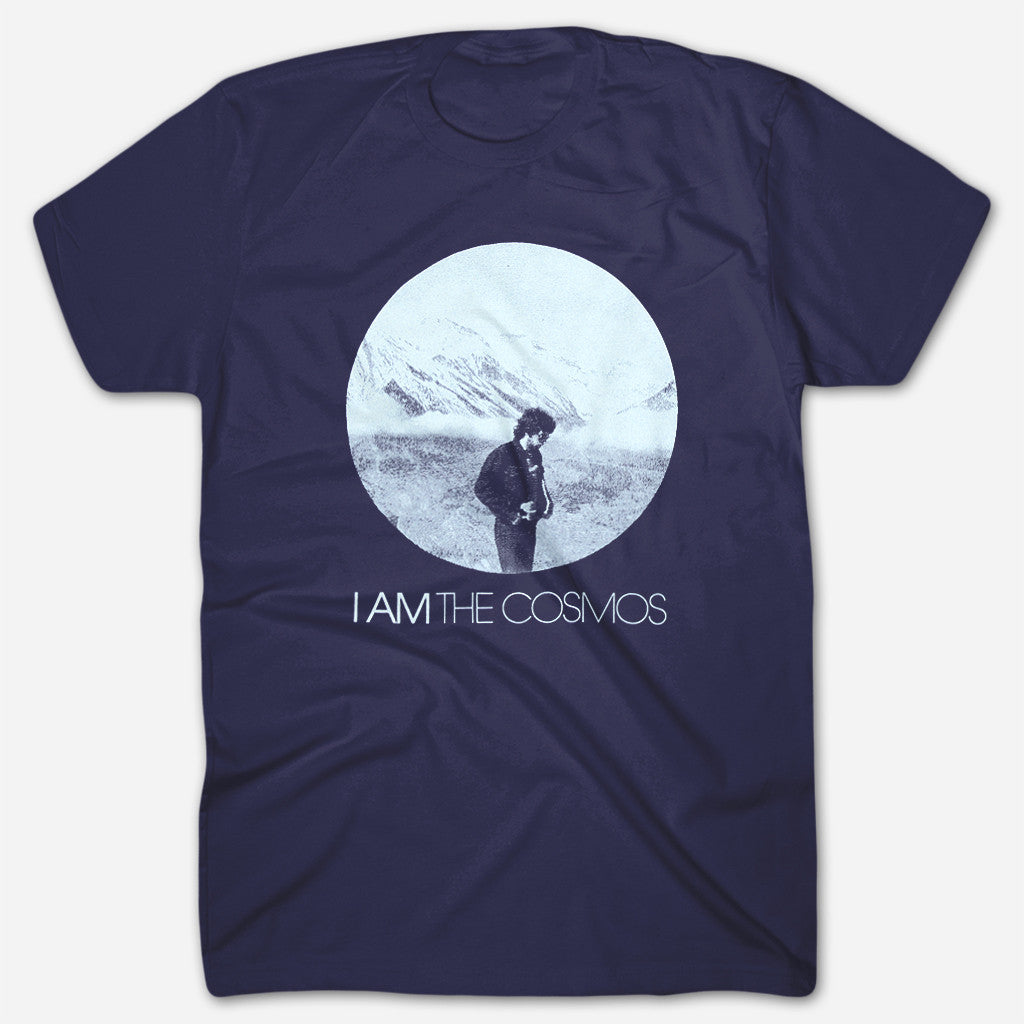 Chris Bell - I Am The Cosmos Navy T-Shirt