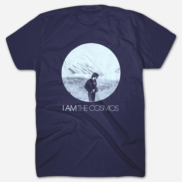 Chris Bell - I Am The Cosmos Navy T-Shirt by Ardent Music for sale on hellomerch.com