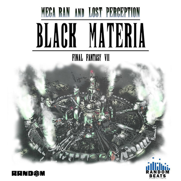 Random AKA Mega Man and Lost Perception - Black Materia by Mega Ran for sale on hellomerch.com