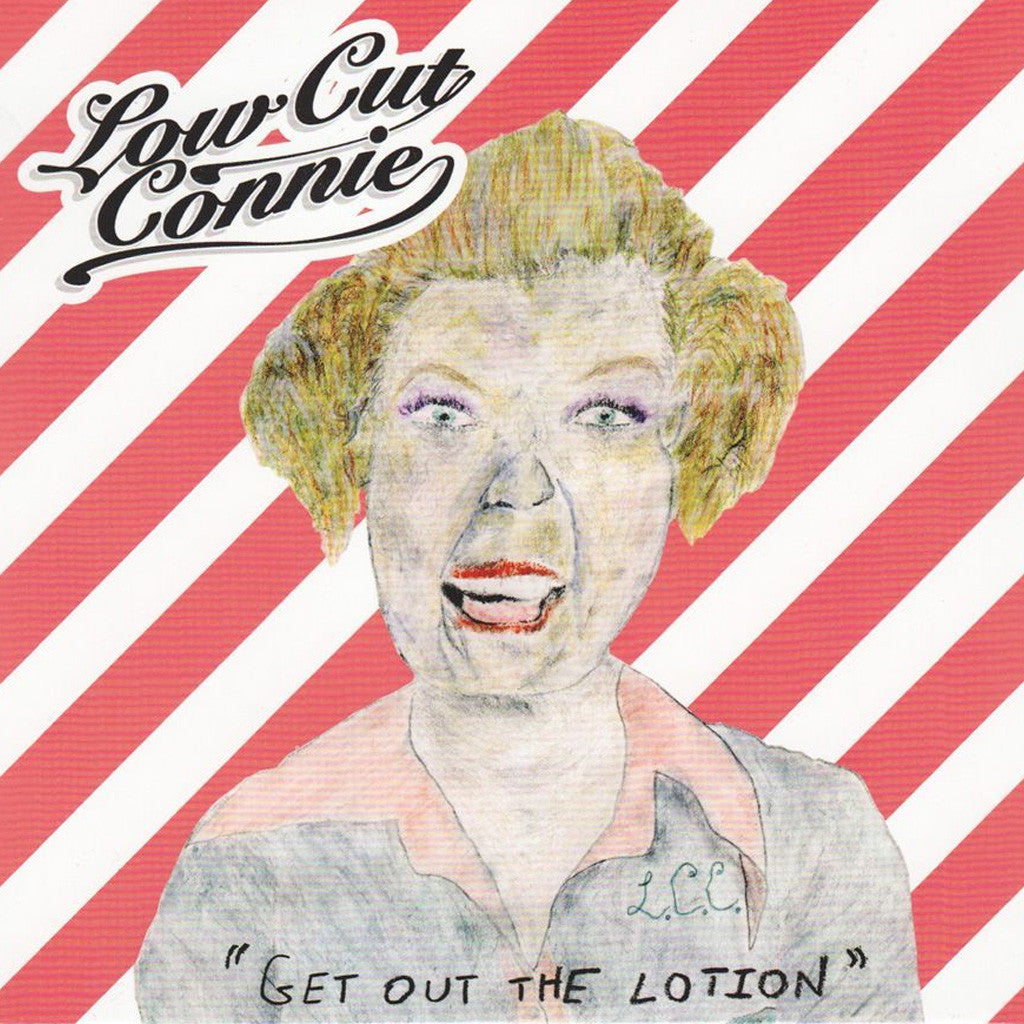 Get Out The Lotion CD - Low Cut Connie - Hello Merch
