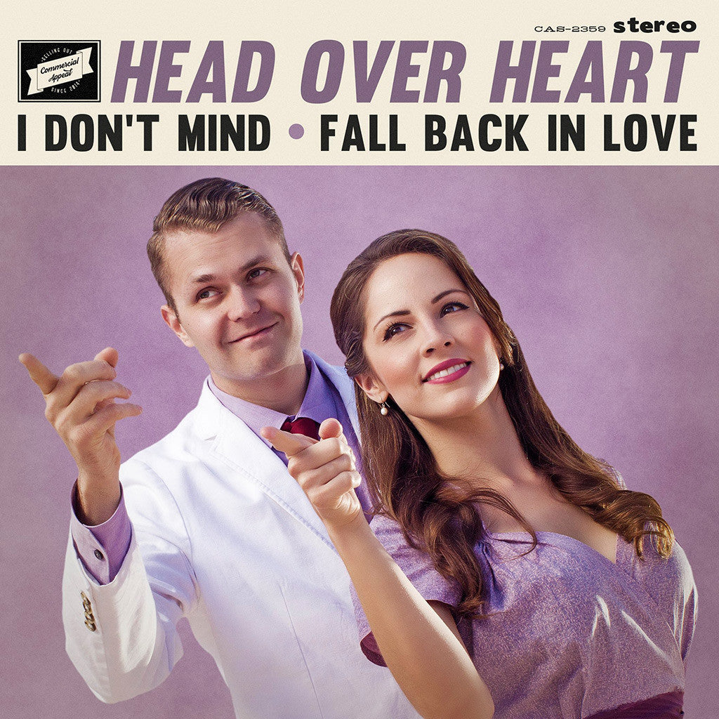 "Head Over Heart - I Don't Mind, Fall Back in Love 7"" Single"