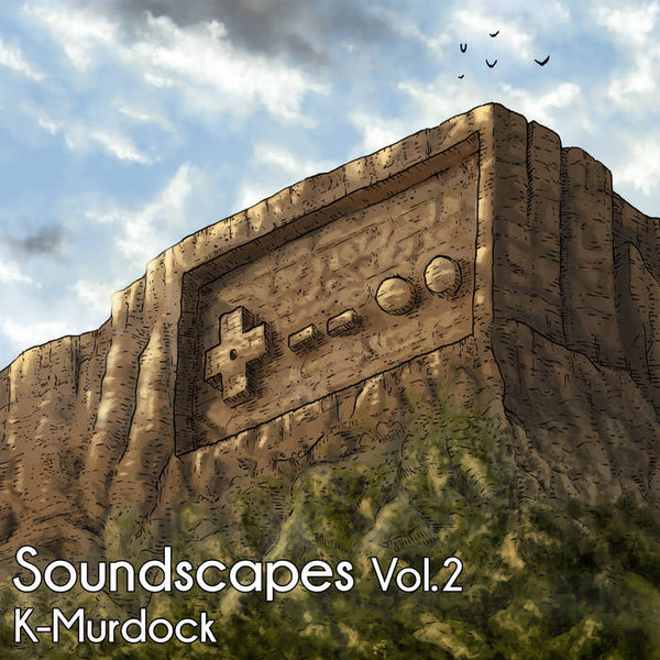 K-Murdock - Soundscapes Volume 2 CD by Mega Ran for sale on hellomerch.com