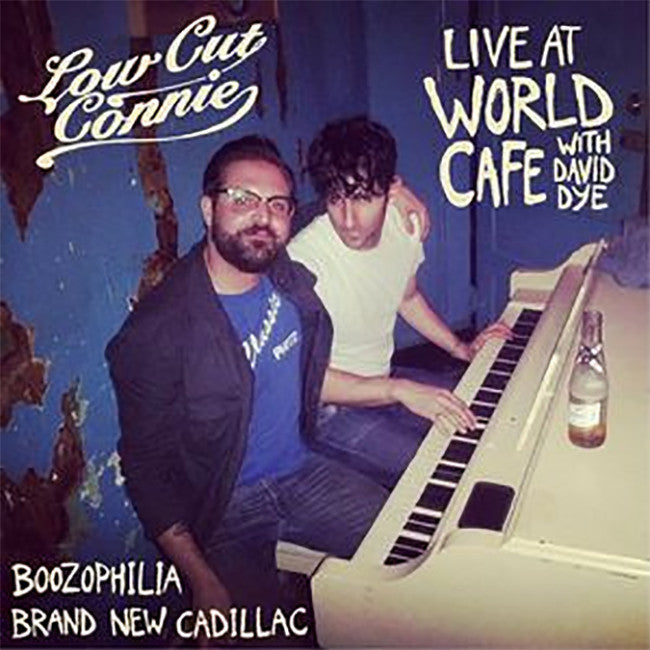 "Live At The World Cafe 7"" Vinyl"