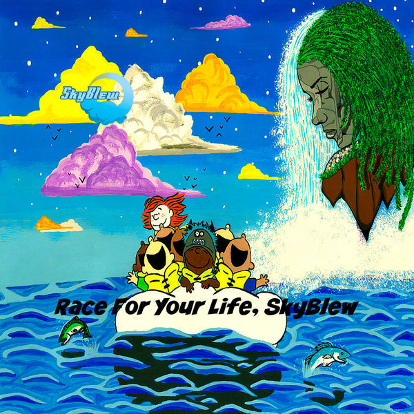 Skyblew Race For Your Life CD by Mega Ran for sale on hellomerch.com