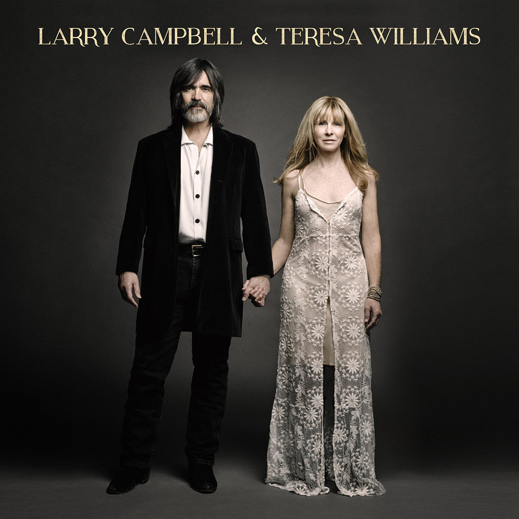 Larry Campbell & Teresa Williams CD - Larry Campbell & Teresa Williams - Hello Merch