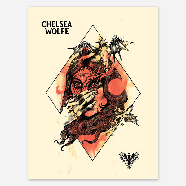 Chelsea Wolfe - Maarten Donders Poster by Chelsea Wolfe for sale on hellomerch.com