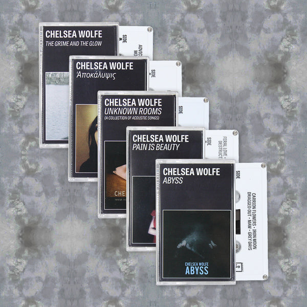 Chelsea Wolfe Cassette Tape Bundle by Chelsea Wolfe for sale on hellomerch.com