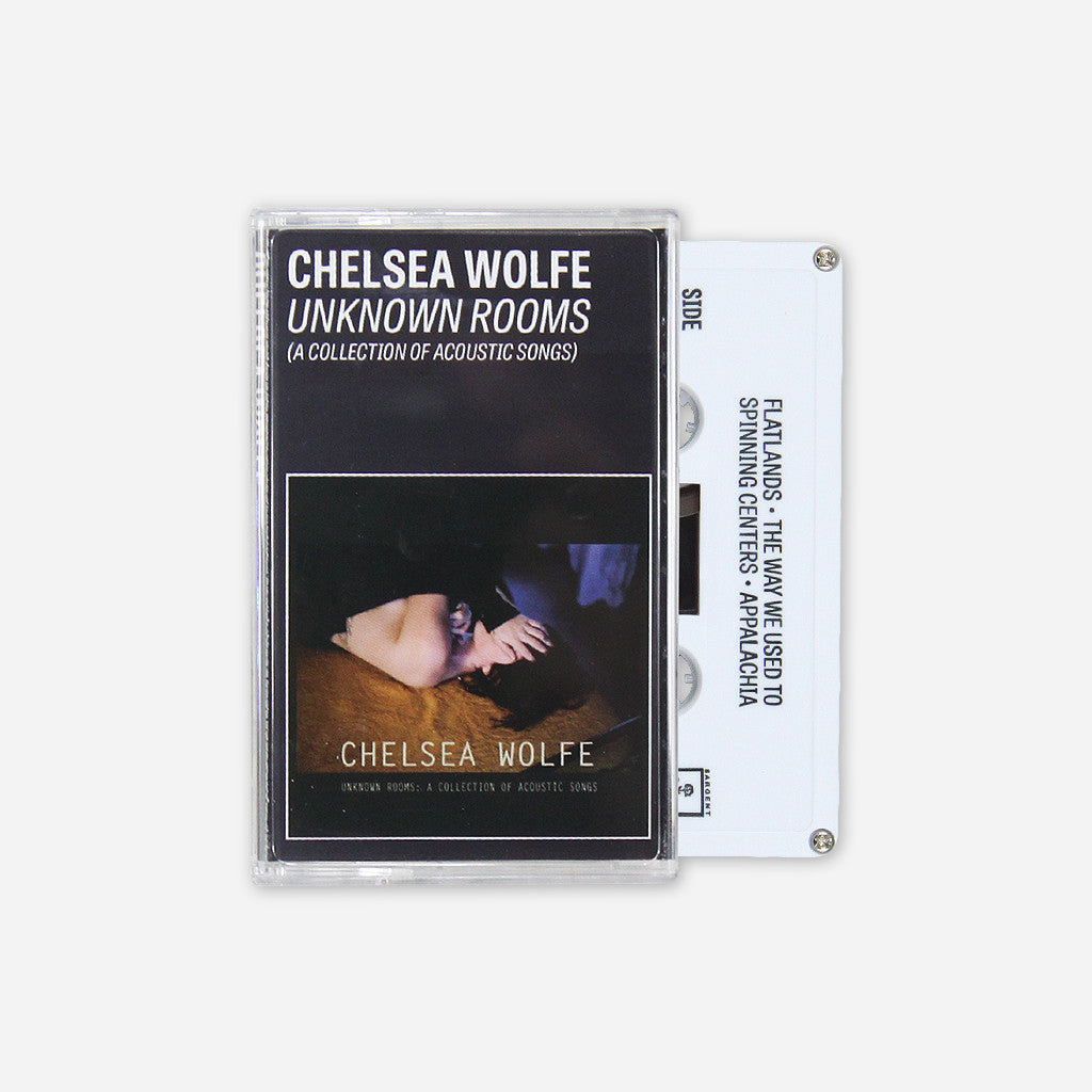 Unknown Rooms Cassette Tape