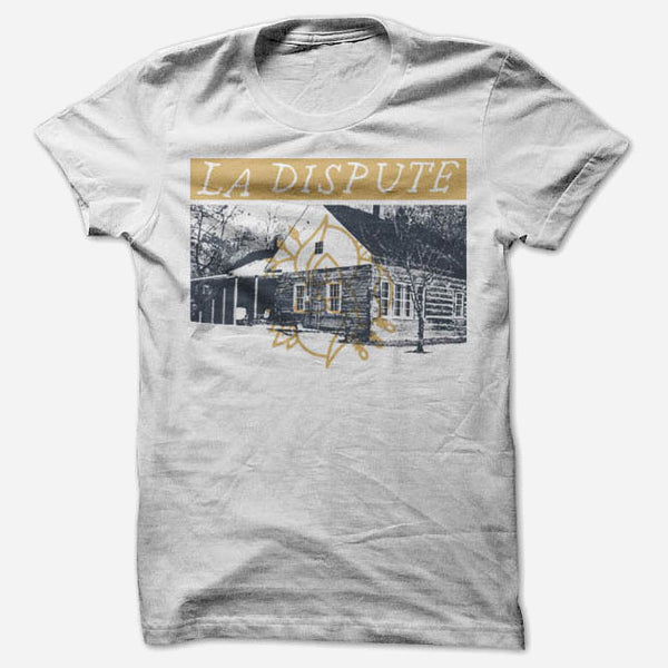 Cabin White T-Shirt by La Dispute for sale on hellomerch.com