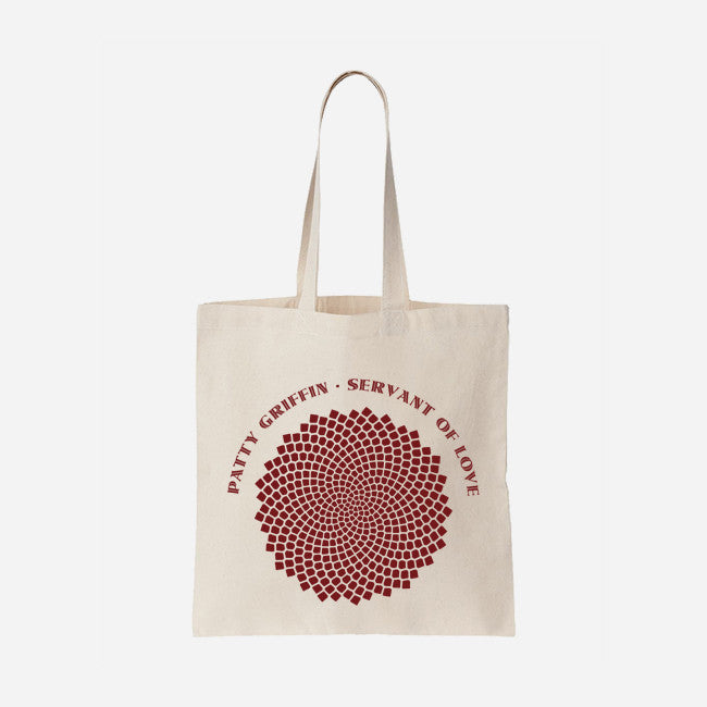 Servant Of Love Natural Canvas Tote Bag