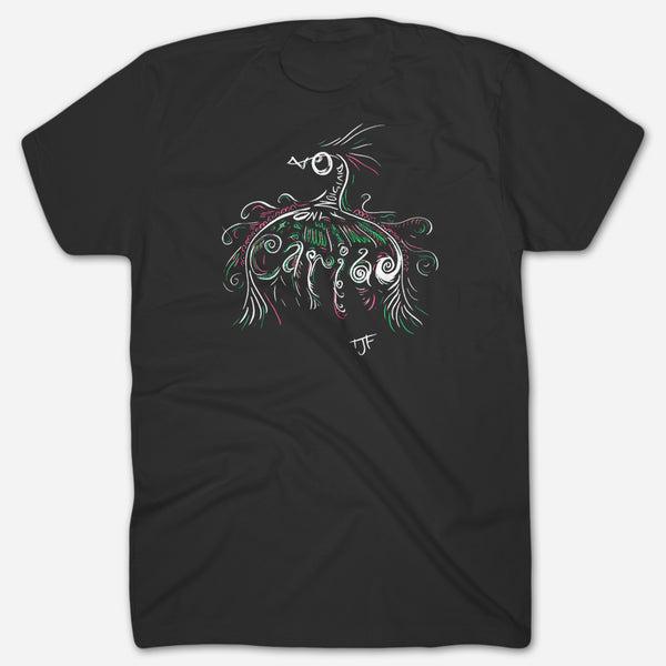 Cariad Black T-Shirt by The Joy Formidable for sale on hellomerch.com
