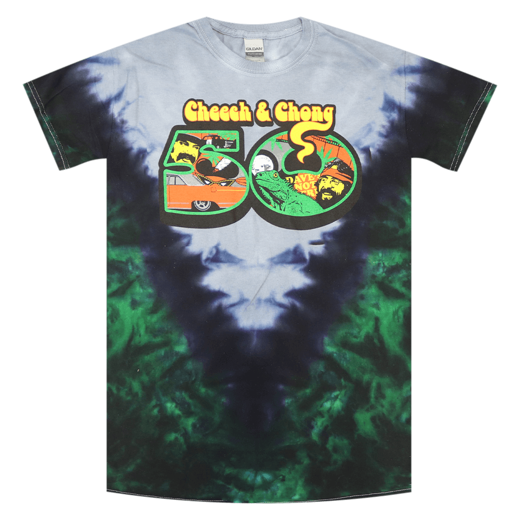 50th Anniversary Tie Dye T-Shirt