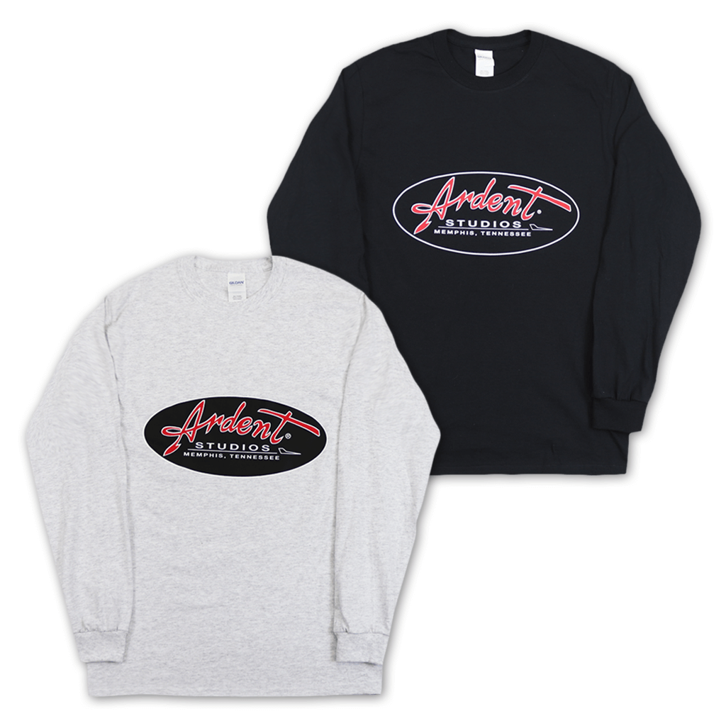 Ardent Studios - Classic Logo Long Sleeve T-Shirt - Ardent Music - Hello Merch