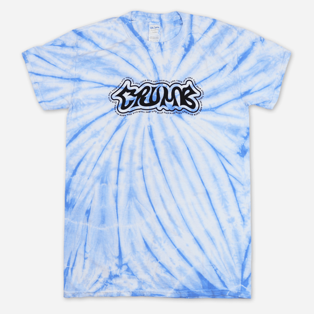 Jinx Tour Colombia Blue Tie Dye T-Shirt