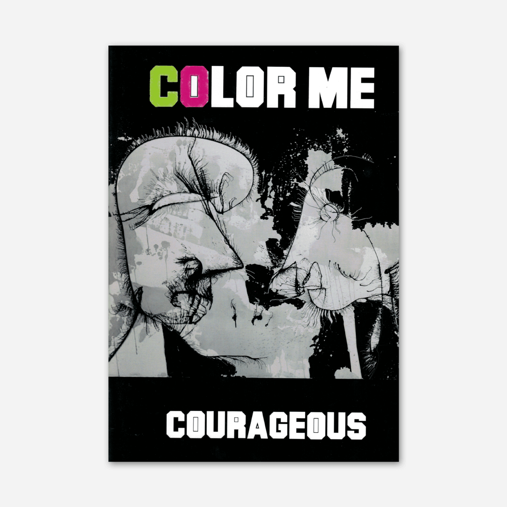 Color Me Courageous Coloring Book