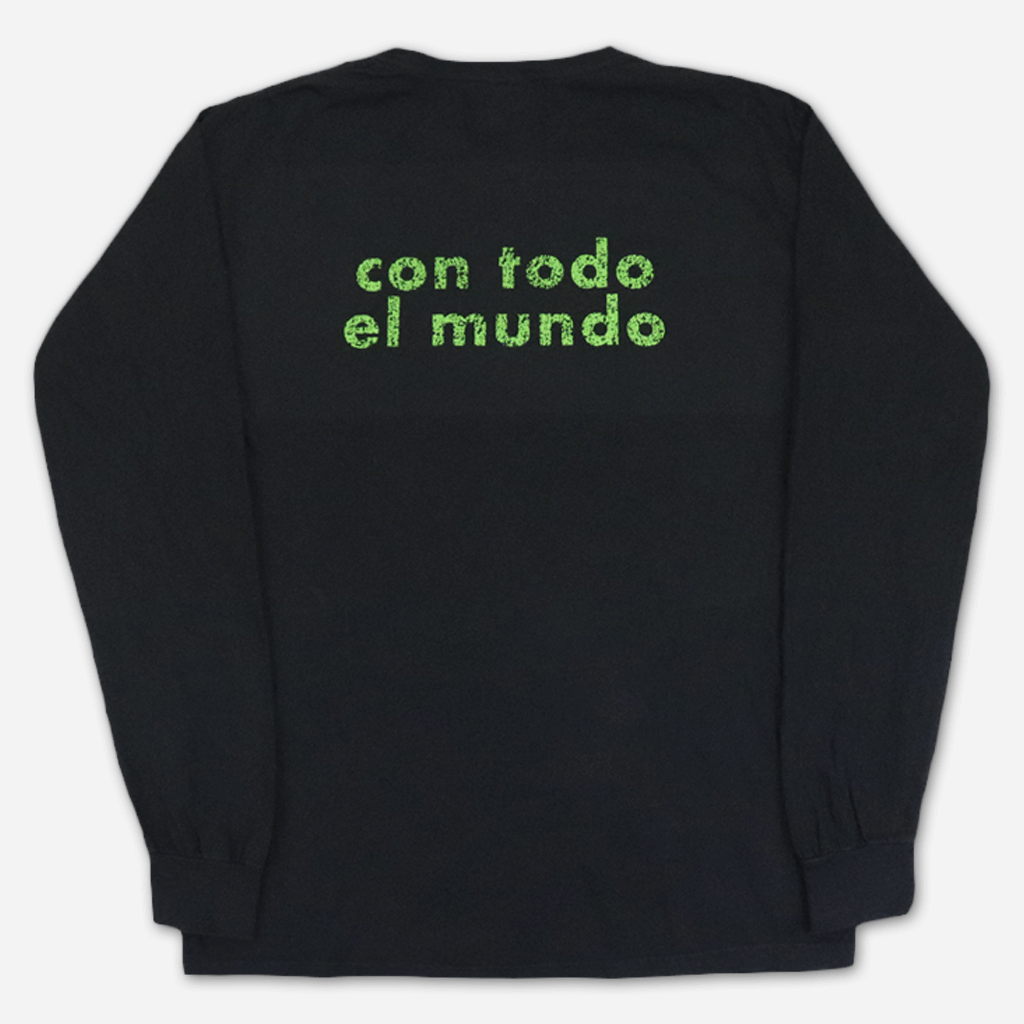 Con Todo El Mundo Black Long Sleeve Shirt