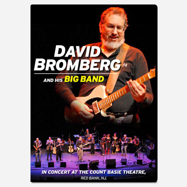 David Bromberg Big Band - Live at Count Basie Theater DVD - David Bromberg - Hello Merch