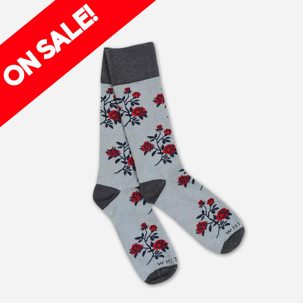 Rose Concrete Socks